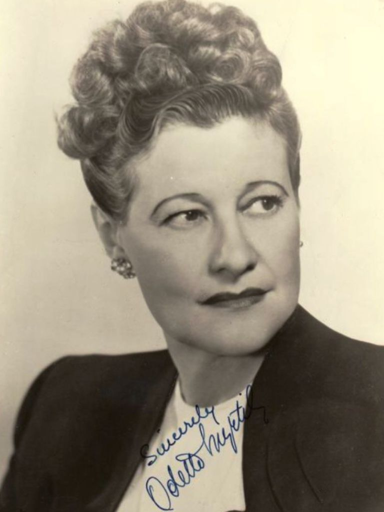 481 Odette Myrtil 奧黛特.米蒂爾 (1898年-1978年 法裔美國女演員、歌手、小提琴家)01