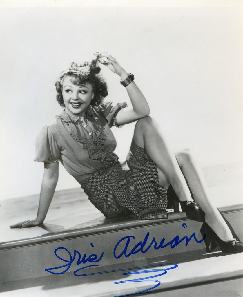 486 Iris Adrian 艾莉絲.阿德里安 (1912年-1994年 美國演員、舞蹈家)02