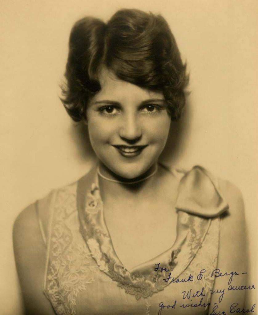507 Sue Carol 蘇.卡羅爾 (1906年-1982年 美國演員、經紀人)01