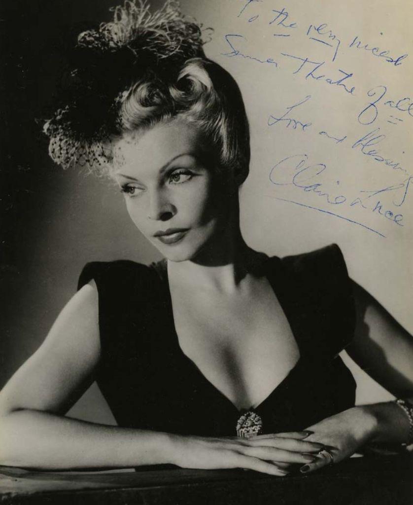 511 Claire Luce 克萊爾.盧斯 (1903年- 1989年 美國舞台劇、電影演員、舞蹈家)05
