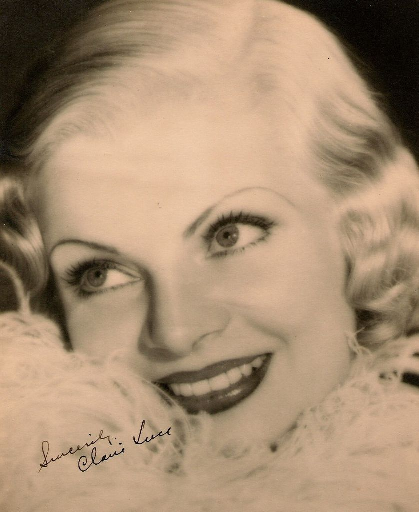 511 Claire Luce 克萊爾.盧斯 (1903年- 1989年 美國舞台劇、電影演員、舞蹈家)01
