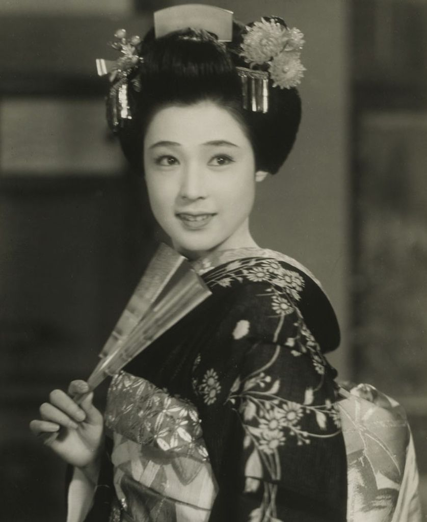 566 Machiko Kyo 京町子(矢野元子) (1924年 日本演員)07