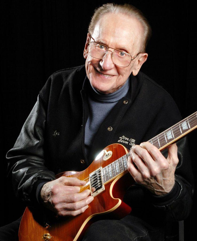 136 Les Paul 萊斯.保羅 (1915年-2009年) 美國電吉他大師、作曲家、發明家08