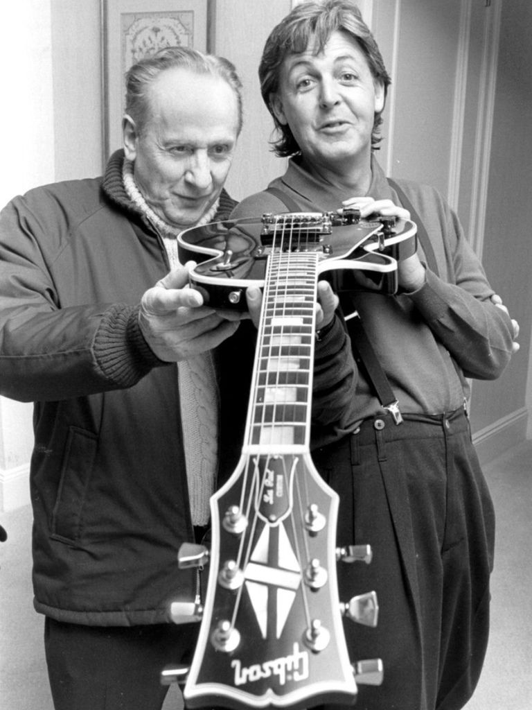 136 Les Paul 萊斯.保羅 (1915年-2009年) 美國電吉他大師、作曲家、發明家03