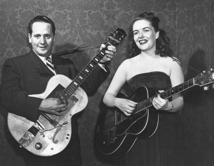 136 Les Paul 萊斯.保羅 (1915年-2009年) 美國電吉他大師、作曲家、發明家01