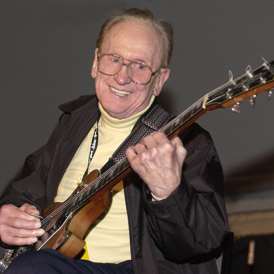 136 Les Paul 萊斯.保羅 (1915年-2009年) 美國電吉他大師、作曲家、發明家09