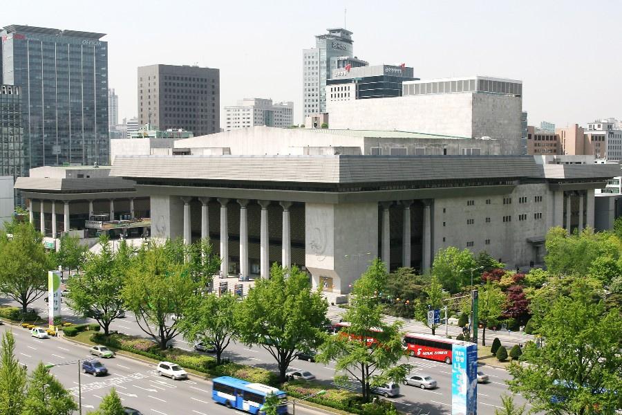 82 大韓民國(南韓)Sejong Center 世宗文化會館 (세종문화회관)01