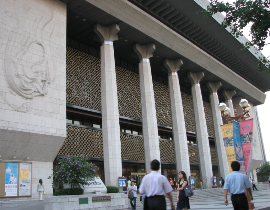 82 大韓民國(南韓)Sejong Center 世宗文化會館 (세종문화회관)05