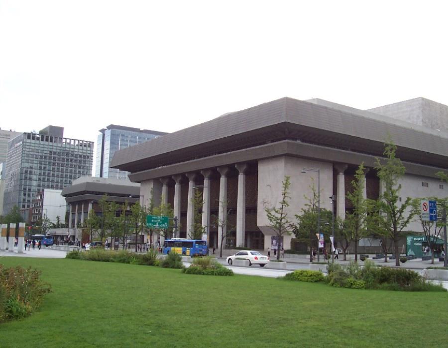 82 大韓民國(南韓)Sejong Center 世宗文化會館 (세종문화회관)03