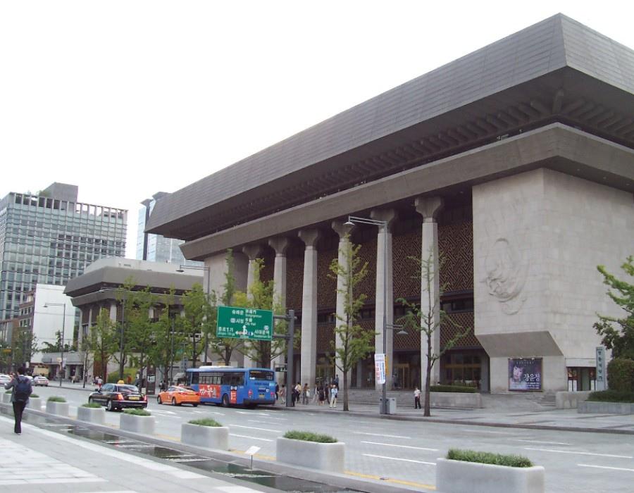 82 大韓民國(南韓)Sejong Center 世宗文化會館 (세종문화회관)02