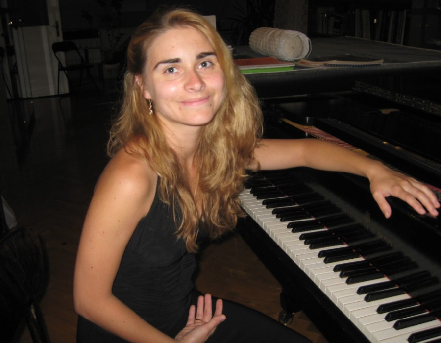 734 Szoke Diana 索克.黛安娜 1984年 匈牙利鋼琴家02