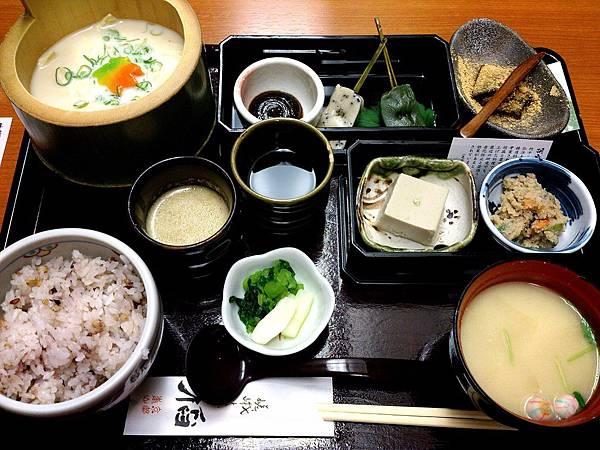 嵯峨とうふ稲 湯葉定食