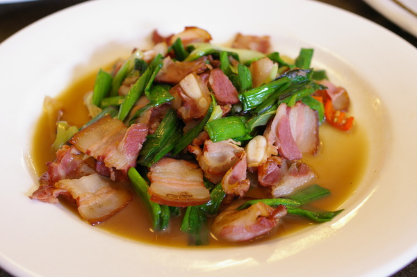 國宴--蒜苗炒臘肉