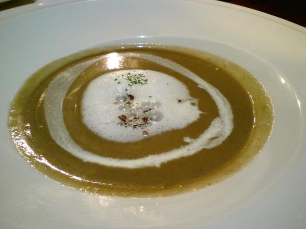 乳香蘑菇湯