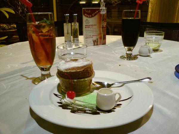 法式巧克力舒芙蕾