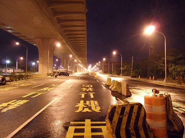 2.環中東路一段/松竹路一段路口(北上)