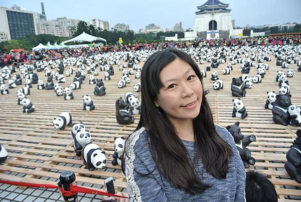 2014-3-15自由廣場1600隻貓熊世界之旅14.JPG