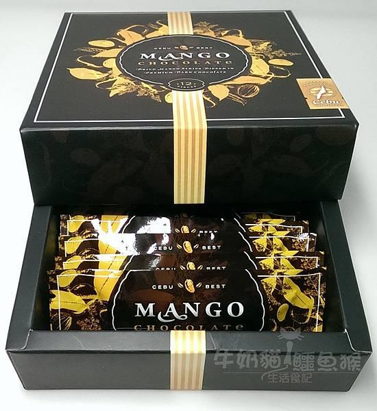 菲律賓巧克力芒果乾