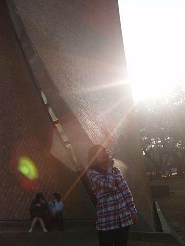 耀眼的陽光...
