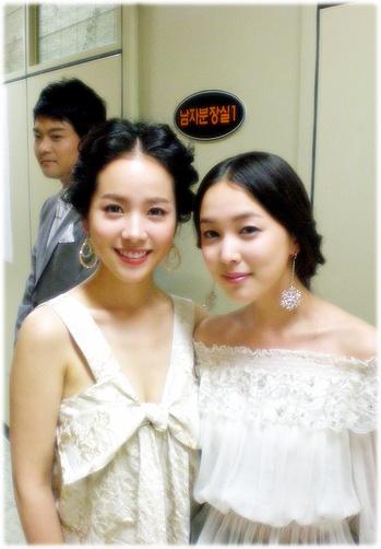 韓智敏與朋友