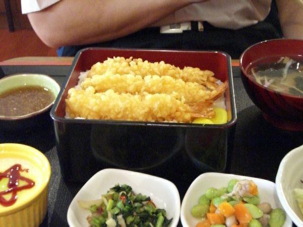 〈暫停供應〉天蝦蓋飯定食