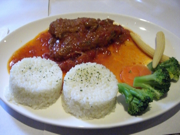 茄汁醬燒豬排
