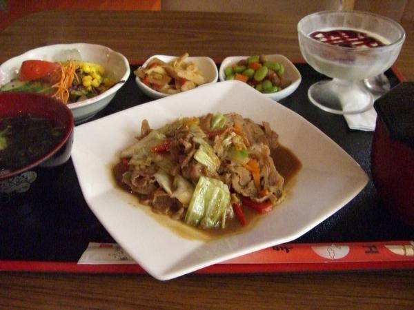 野菜豬肉味噌燒定食 (整份)