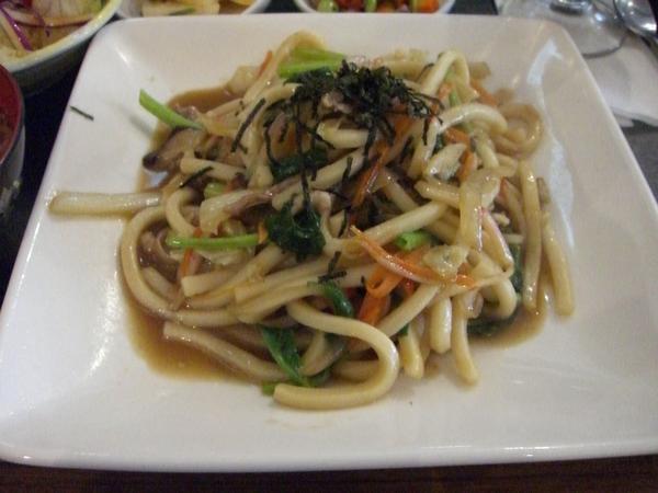 炒烏龍麵定食 (主菜)