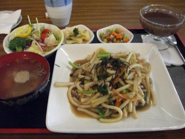 炒烏龍麵定食 (整份)