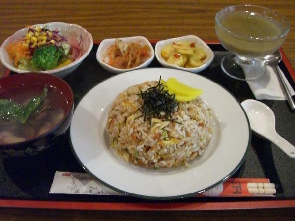 鮭魚炒飯定食 (整份)