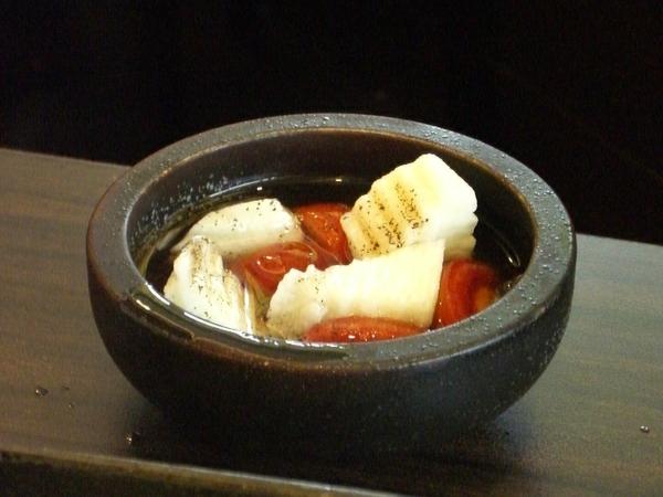 開胃菜 ─ 山藥蕃茄沙拉