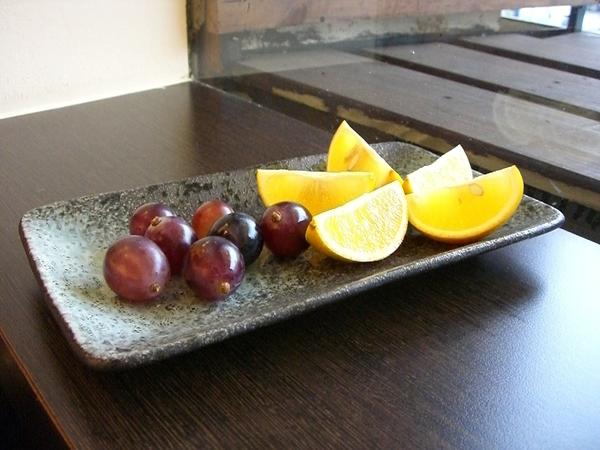 餐後附餐 ─ 精緻水果