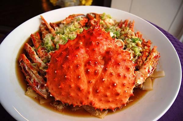 15桌以上每桌+1元即送帝王蟹