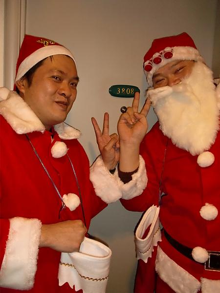 聖誕客房突擊驚喜---大成功