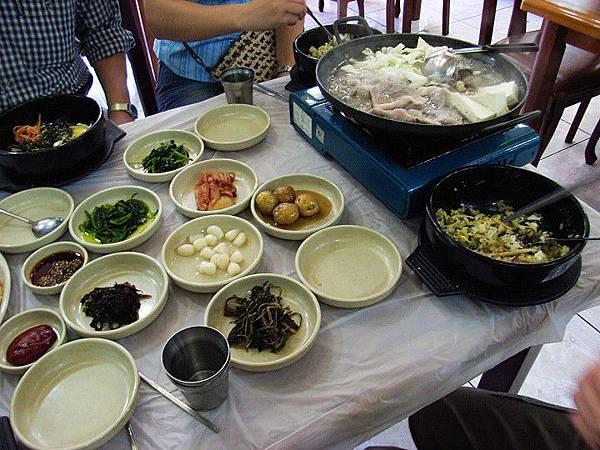 韓國之旅-風味餐篇(媳婦拌飯+涮涮鍋)