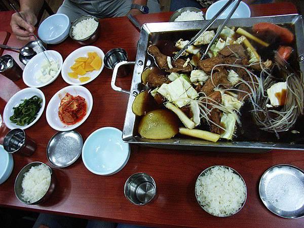 韓國之旅-風味餐篇(安東粉絲燉雞)