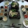 韓國之旅-風味餐篇(大長今硫磺鴨餐)