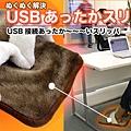 USB 保暖拖鞋