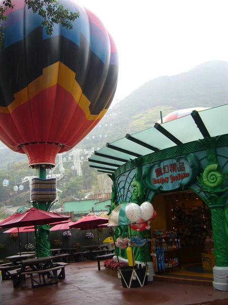 哇~~~好漂亮的熱氣球唷