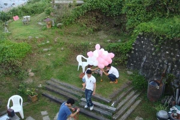 整理氣球組