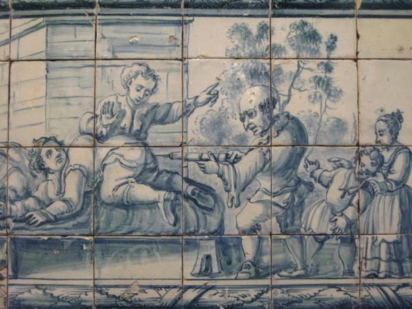 Museu Nacional do Azulejo 看醫生打針囉