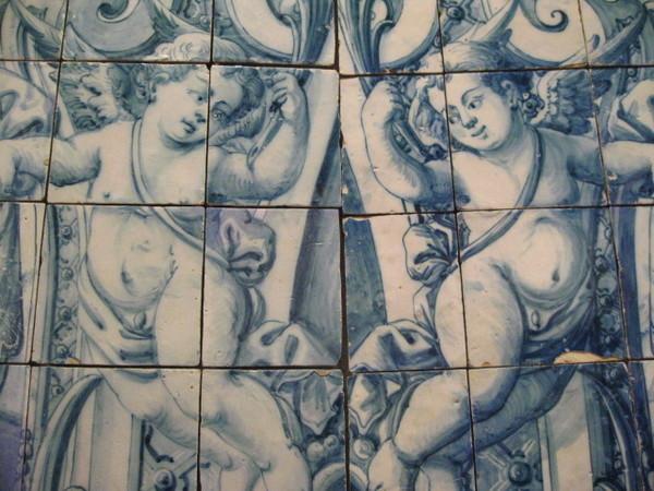 Museu Nacional do Azulejo 可愛的天使