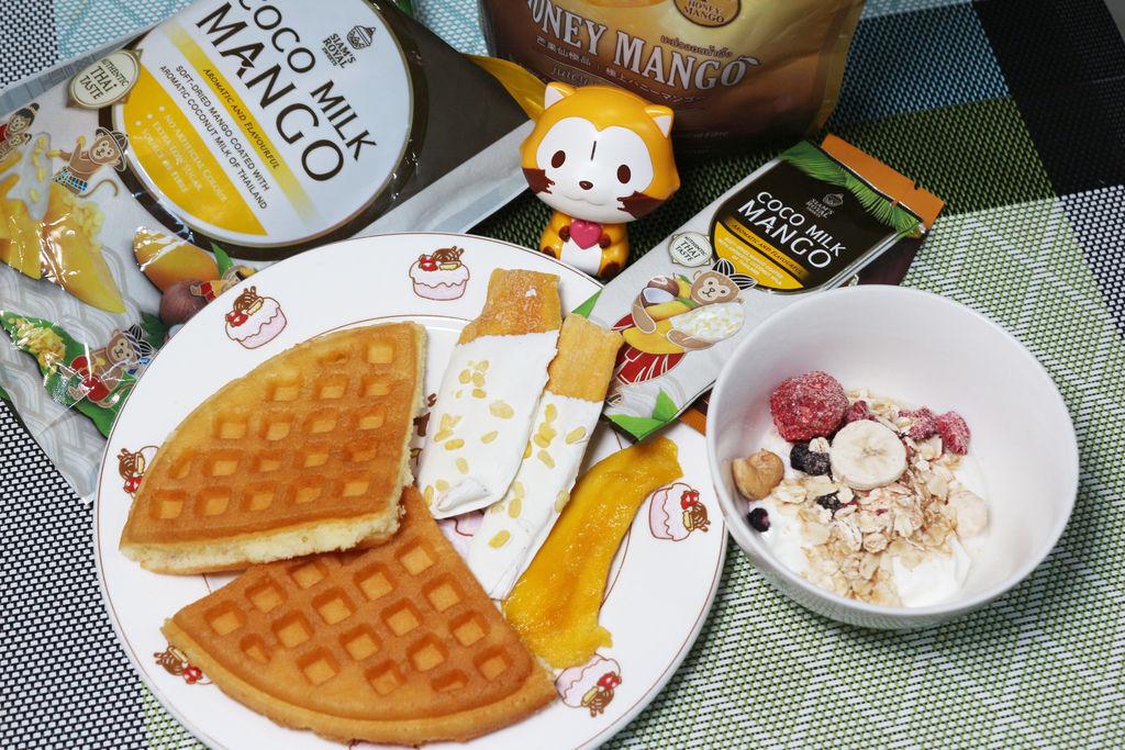 泰國必買伴手禮  充滿創意衝擊的椰奶芒果干&蜂蜜芒果乾