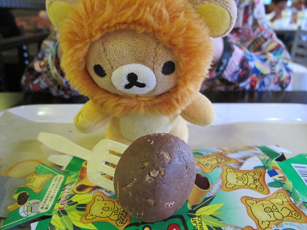小阿仁與小熊餅乾球