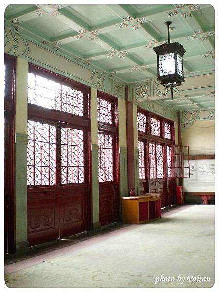 中山紀念堂內部的廊道