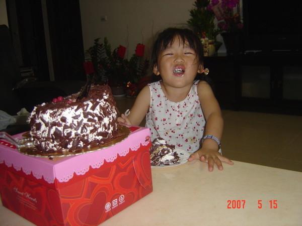 蛋糕有這麼好吃嗎?