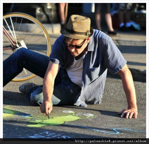 可愛的街頭藝術