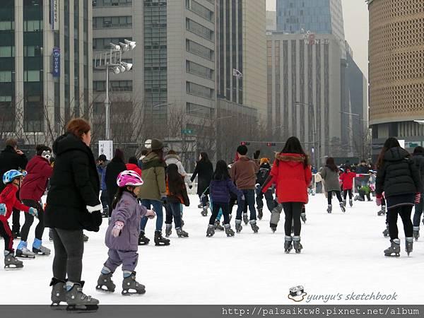 首爾廣場溜冰場