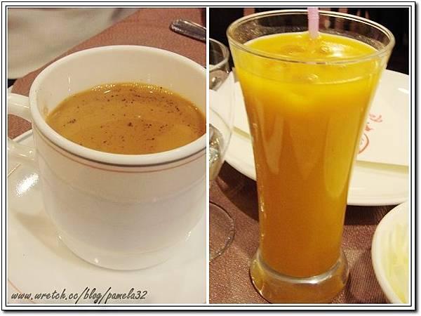 坦都印度餐廳-印度奶茶+芒果汁