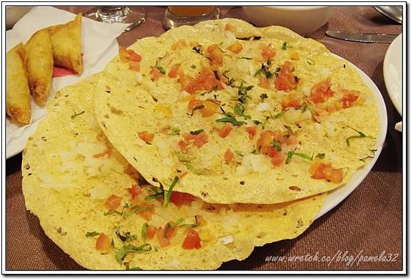 坦都印度餐廳-印度脆餅$70